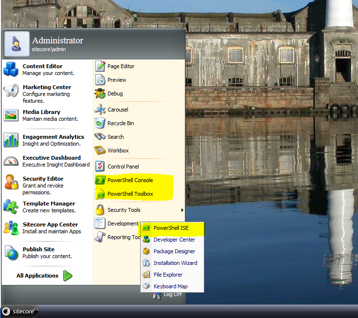 Sitecore Desktop